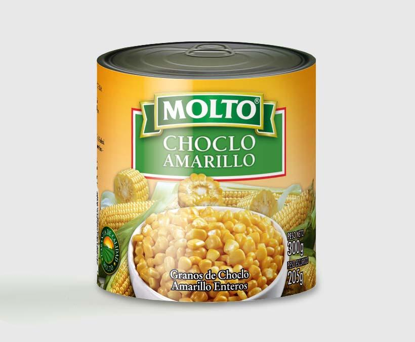 CHOCLO AMARILLO 300GR